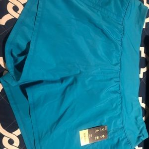 NWT Xersion Running Shorts - Turquoise.
